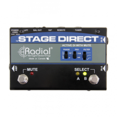 Radial Stagedirect Active DI with Mute Footswitch