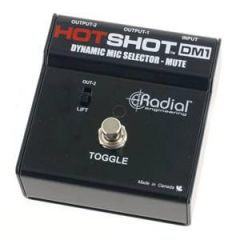 Radial Hotshot DM1 Momentary Footswitch