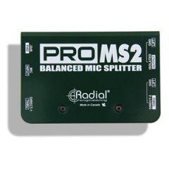 Radial ProMS2 Passive Mic Splitter