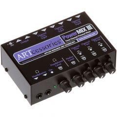 ART Powermix III 3 Channel Personal Stereo Mixer