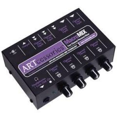 ART Macromix 4Channel Personal Stereo Mixer
