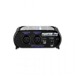 ART Phantom II Pro 48V Battery Phantom Power Supply