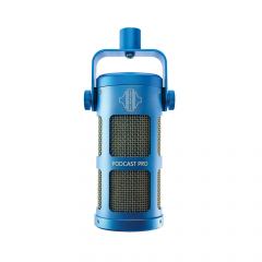 Sontronics PODCAST PRO BLUE Supercardioid Dynamic Microphone