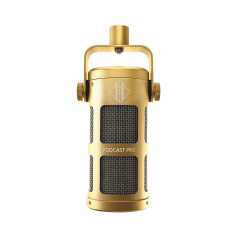Sontronics PODCAST PRO GOLD Supercardioid Dynamic Microphone