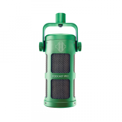 Sontronics PODCAST PRO GREEN Supercardioid Dynamic Microphone