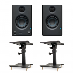 Presonus Eris 3.5 Monitors with Desktop Stands