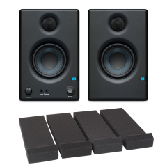 Presonus Eris 3.5 Monitors with Monitor Pads