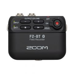 Zoom F2-BT Compact Field Recorder with Lavalier Mic