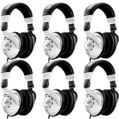 Behringer HPS3000 Headphones (6-Pack)