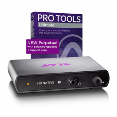 Pro Tools | HD Native TB w/Pro Tools | Ultimate Perp