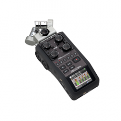 Zoom H6 Black Multi-Channel Handheld Recorder