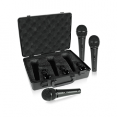 Behringer Ultravoice XM1800S Dynamic Mic 3-Pack