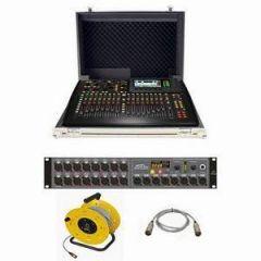 Behringer X32 Compact + S16 + Case Bundle