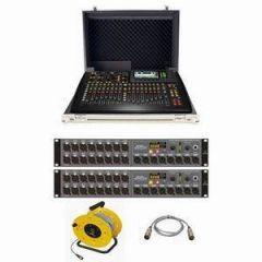 Behringer X32 Compact + Trojan Case + 2xS16 Bundle