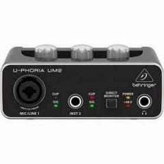 Behringer UM2 U-Phoria USB Audio Interface