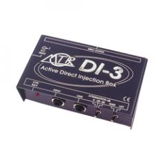 MTR DI-3 Active Mono DI Box