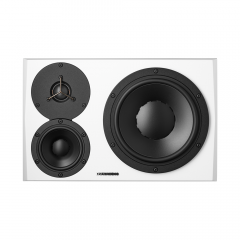 Dynaudio LYD48 3 Way Active Monitor White Left