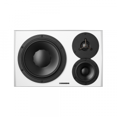 Dynaudio LYD48 3 Way Active Monitor White Right