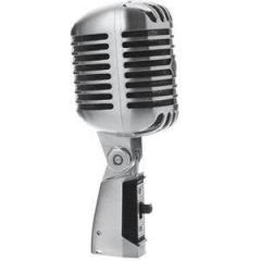 Shure 55SH Silver Retro Vocal Mic
