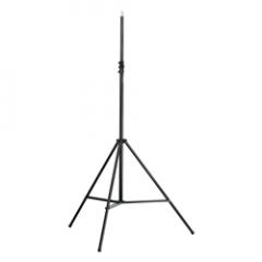 K&M 21411 Heavy-Duty Mic Stand (No Boom) 1/2'' Thread