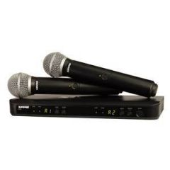 Shure BLX288/PG58 Dual Vocal System CH38