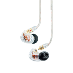 Shure SE535 Earphones (Clear Wired Version)