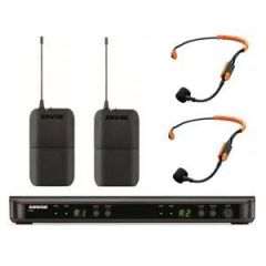 Shure BLX188UK/SM31 Dual Headset System with SM31FH