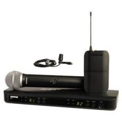Shure BLX1288UK/CVL Combo System with CVL