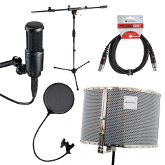 AT2020 Voiceover Starter Kit - RED50