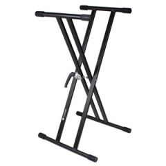 Studiospares Double Cross Keyboard Stand
