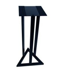Triple Rod Triangle Base Monitor Stand by Studiospares (Single)