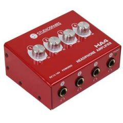 4-Way Headphone Amplifier Studiospares HA4