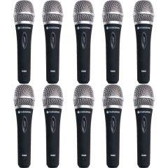 Studiospares S965 10-Pack Vocal Mics
