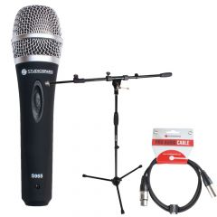 Studiospares S965 Vocal Mic + Stand + 5m XLR Lead
