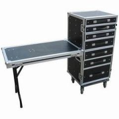 Trojan 7-Drawer Wheeled Roadie Flight Case