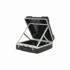 Trojan ABS Pop-Up Mixer Flight Case 12U Black