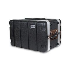 Trojan ABS Shallow Rack Flight Case 6U