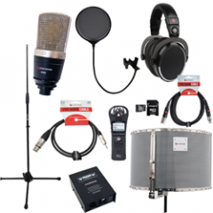 Voiceover and Podcasting Kit with Studiospares S400 - RED50