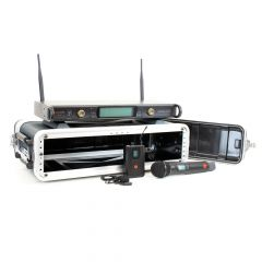 Studiospares 2.4GHz Dual Wireless HH/Lav 2U Case Bundle