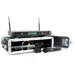 Studiospares 2.4GHz Dual Wireless HH/HS 2U Case Bundle