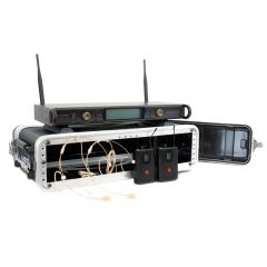Studiospares 2.4GHz Dual Wireless Dual HS 2U Case Bundle