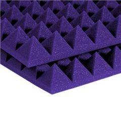 Auralex 2'' Studiofoam Pyramids 2' x 4' Purple