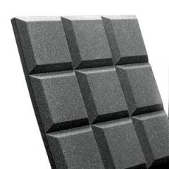 Auralex Sonoflat Grid Charcoal 2inchx2'x2' Panel x1