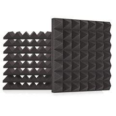 Acoustic Pyramid 30 Absorption 9 Tile Kit 75mm