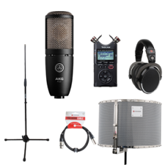 Voiceover Kit Pro with AKG P220 - RED50
