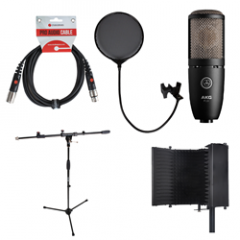 P220 Voiceover Starter Kit - Reflection Filte Black