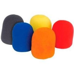 Mic Windshields 5-Pack Coloured 60x35mm internal
