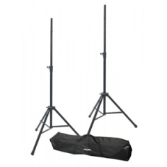 Proel SPSK300KIT Air Cushioned Speaker Stands (pair) with Carry Bag