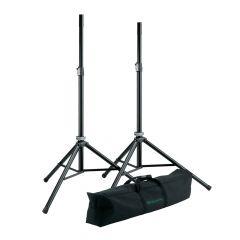 K&M 21449 Speaker Stands + Bag