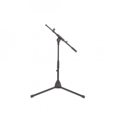 K&M 25905 Low Mic Stand and Telescopic Boom